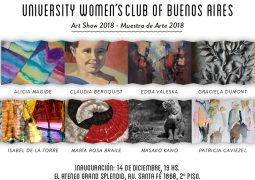 Muestra de Arte 2018 del University Women's Club of Buenos Aires
